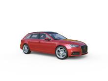 SEs Dachbox Audi A4 flach
