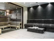 Frisch und modern: der neue Saunabereich.