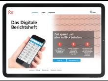 Schnell und einfach anmelden: Das digitale Berichtsheft entlastet Azubis und Ausbilder.