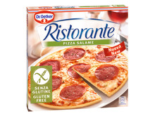 Glutenfri Pizza Ristorante Salame