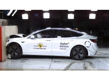 Tesla Model 3 Frontal full width test June 2019