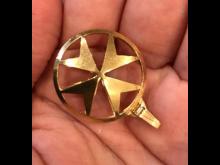Stolen Maltese gold cross