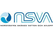 Logotyp NSVA med bolagsnamn