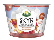Arla Skyr Frucht & Kerne - Pfirsich & Himbeere