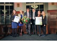 Gewandhausdirektor Prof. Andreas Schulz mit dem Tourismuspreis 2018 in der Kategorie Unternehmen