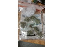 Drugs recovered following stop-search, Breck Road