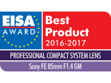 EUROPEAN PROFESSIONAL COMPACT SYSTEM LENS 2016-2017 - Sony FE 85mm F1.4 ...