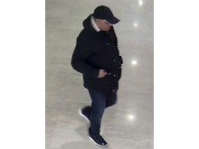 CCTV image of a man officers would like to speak to in relation to a theft in Milton Keynes
