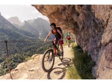 OutdoorTesival im Trentino Mountainbiken