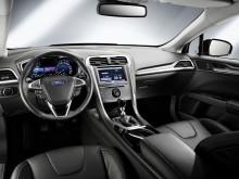 Interiørbilde av nye Ford Mondeo som kommer til Norge 2. halvår 2013.