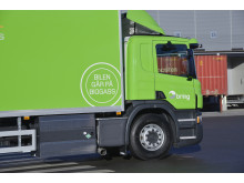 Postbil på biogass
