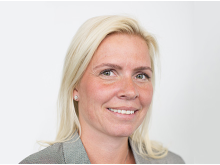 Marte Hammer-Røijen, sektordirektør for bank og forsikring i Sopra Steria.