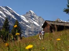 Sommer in der Erlebniswelt Schilthorn