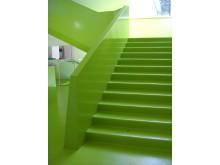 Årets golvtrender -  Gummigolv i flera starka färger från Artigo/Falck Design