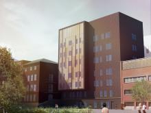 S:t Görans sjukhus, ny byggnad  öster