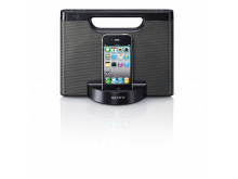 RDP-M5iP_front_with_iPhone_Black