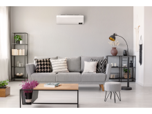 Samsung Wind-Free Air Conditioner AR9500T AR07T9171HB3 Lifestyle Image NonText - Living Room 3