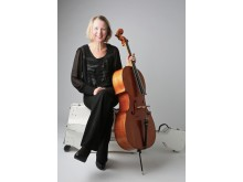 Karin Bjurman, cello, NorrlandsOperan