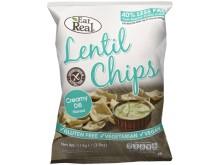 Lentilchips creamy dill
