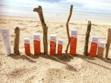 Algamaris on the beach