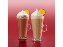 Costa Coffee  Caramelised Orange  Latte and Hot Chocolate