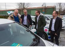 Nya bilar i Helsingborgs elbilspool 1