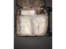 Class A drugs found in suitcase