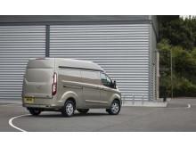 Nye Ford Transit Custom med høyt tak
