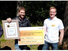Vinnaren av the Golden Logger 2015