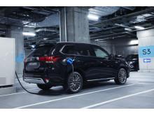 Mitsubishi Outlander PHEV hurtiglading