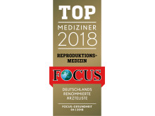 Top Mediziner Siegel Reproduktionsmedizin, Prof. Dr. Frank Nawroth, Dr. Klaus Diedrich, Dr. Robert Fischer, Dr. Arvind Chandra