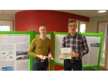 Energirådgivarna Thomas Skagenborg och Hugo Franzén