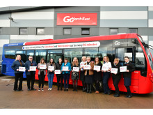 A selection of Go North East's 200-strong driving force of inspiring women
