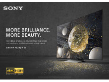 "BRAVIA 4K HDR TV ""Balloons"" commercial key visual"