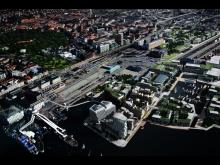 Framtidens Helsingborg C - området idag