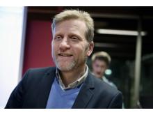 Patrik Derk, vd för bostadsbolaget Telge Hovsjö