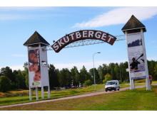 Entrén till Skutberget