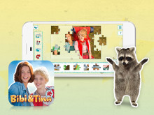 Bibi & Tina Puzzle-Spaß Pressebild