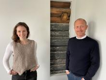 Prosjektleder Guro Varvin Hjelseng og Direktør forretningsområde Moss Jan Erik Kristiansen.jpg