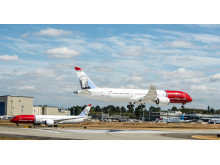 Norwegian 787-Dreamliner at Boeing factory