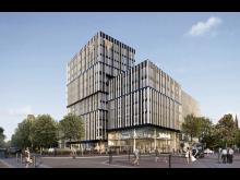 ZÜBLIN, Volksbank-Areal, Visualisierung 1,  Freiburg