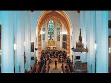 Bach-Marathon - Probe des Sächsischen Barockorchesters in der Thomaskirche