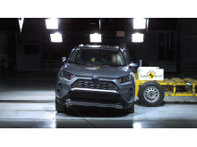 Toyota RAV4 Side crash test May 2019