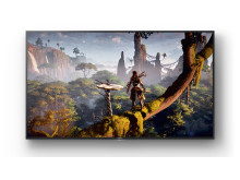 SONY_ZD9_65_Wall_Playstation_TV_Horizon Zero Dawn_ScreenFill