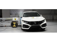 Honda Civic - side crash test July 2017