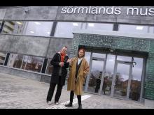 Tom Sandqvist och Joanna inför Vårsalongen 2020 _till Tom.jpg