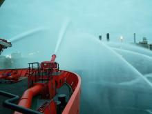 'Esvagt Aurora' at Melkøya - 2