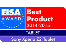 EISA Award 2014_XPERIA Z2 tablet de Sony