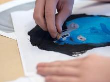 Bildprojekt på Ersängsskolan och Bräntbergsskolan