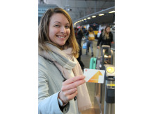 Smart Ticketing Manager Sherisse Shelton-Smith and the new-look Key Smartcard